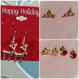 Sale! 🎄Christmas Earrings Bundle
